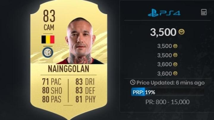 Radja Nainggolan est toujours très intéressant sur FIFA.