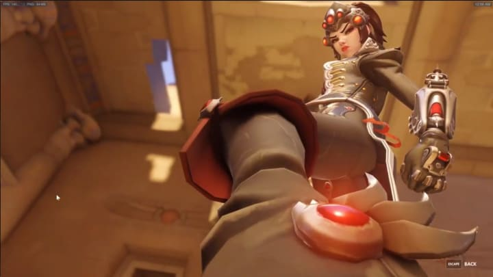 """Widowmaker takes the objective in an """"over my dead body play"""""""