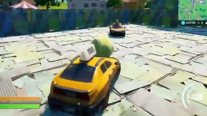 Fortnite Player Creates Rocket League in Fortnite