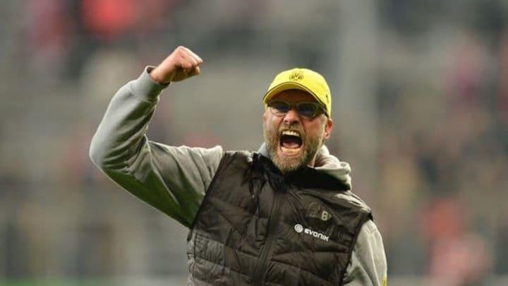 Klopp during his pomp at Dortmund