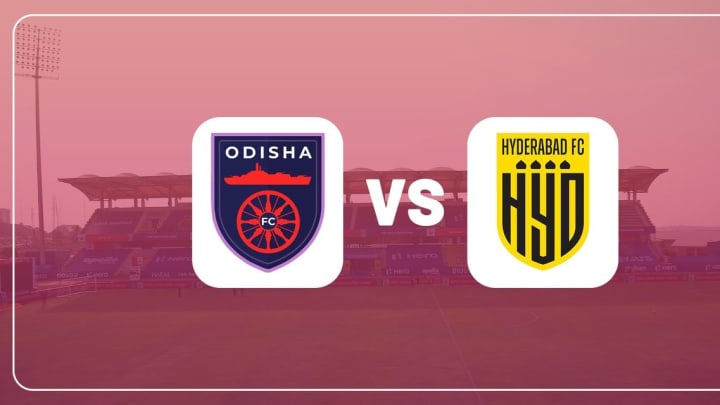Odisha FC Take on Hyderabad FC in the ISL