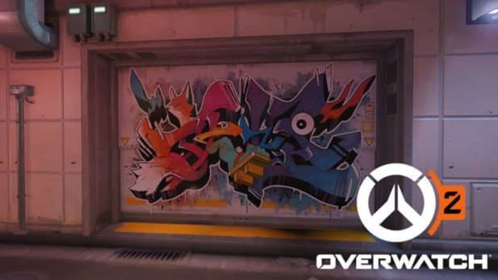 An Overwatch Hero Teaser was found in the new free-for-all map Kanezaka.