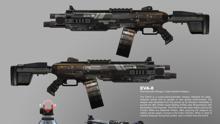 A potential nerf for the EVA-8 pump-action shotgun came to light recently during the fifth episode of the Apex Uncut podcast earlier this week.