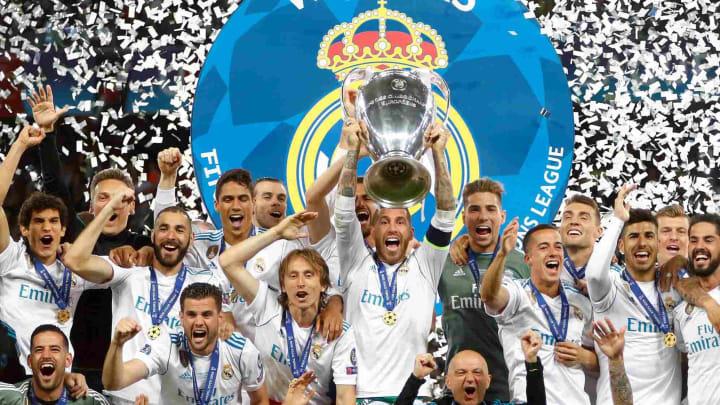 Real Madrid là đội bóng giàu thành tích nhất Champions League