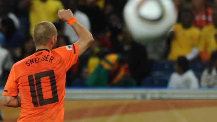 Sneijder mit der 10 - der klassische Spielmacher