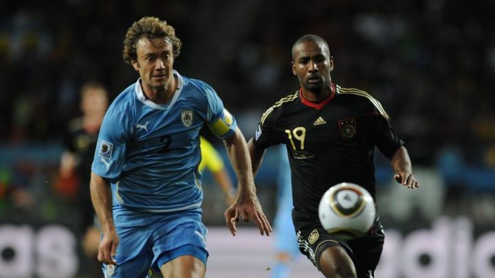 Diego Lugano bei der WM 2010 im Spiel um Platz 3 gegen Deutschland
