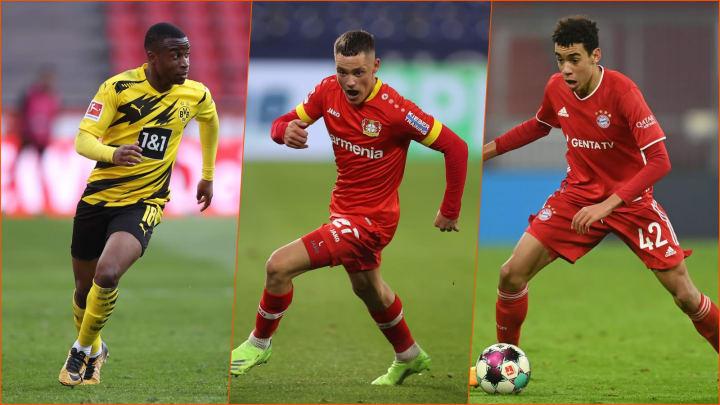 Moukoko, Wirtz und Musiala könnten in Zukunft eine große Rolle im DFB-Team spielen