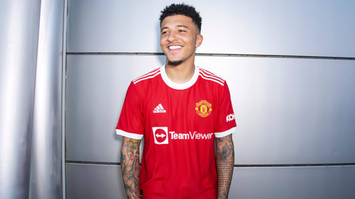 Jadon Sancho recently completed his dream move to Manchester United