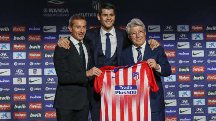 Atlético Madrid confirmed the permanent signing of Morata from Chelsea £58m in 2019.
