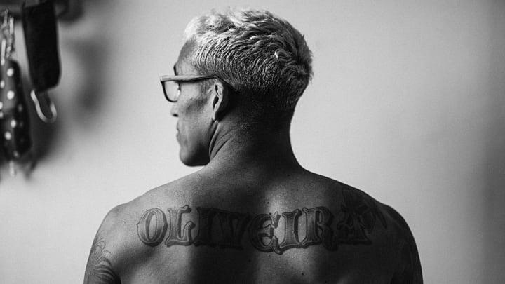 Charles do Bronx tatuagem UFC