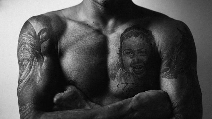 Charles do Bronx UFC filha tatuagem