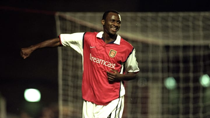 Patrick Vieira with Arsenal in 1999