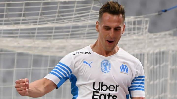 Milik a inscrit un triplé contre Angers lors du dernier match