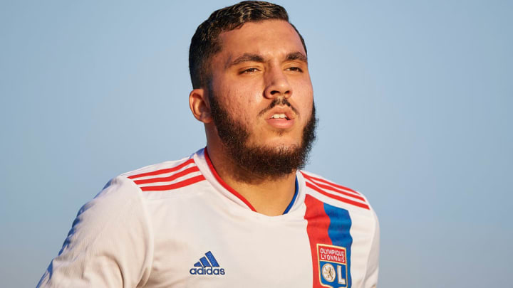 Rayan Cherki, le grand espoir de l'Olympique Lyonnais.