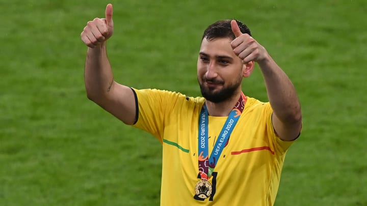 Donnarumma has signed a five-year deal at PSG