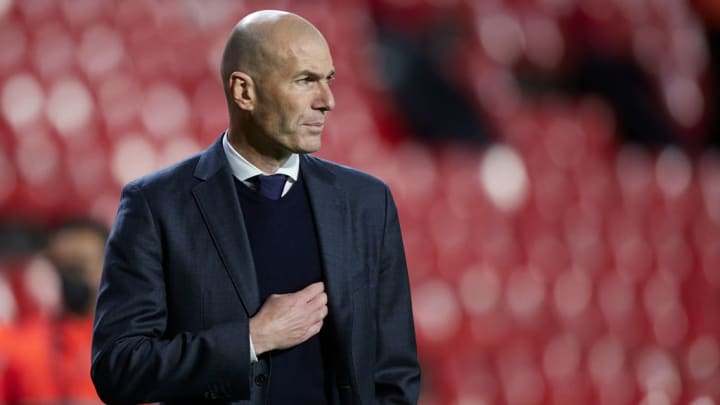 Zidane est sur la sellette au Real Madrid