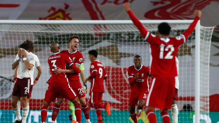 Liverpool Arsenal 3-1 Diogo Jota Goal