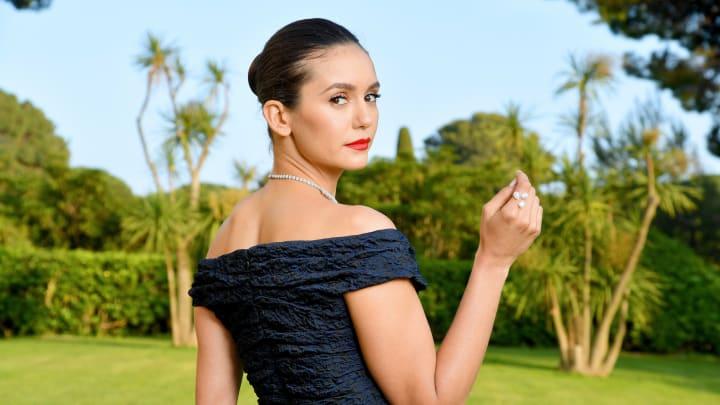 Nina Dobrev attends the amfAR Cannes Gala 2019