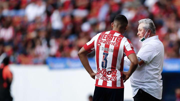 Víctor Manuel Vucetich, entrenador de Chivas