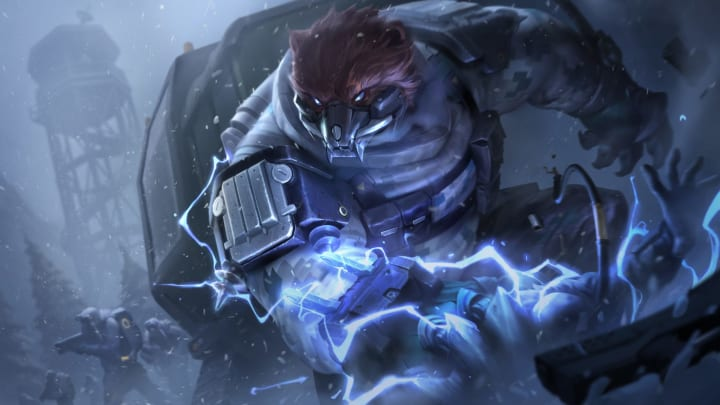 Volibear receives buffs in League of Legends Patch 10.12, set for release Wednesday.