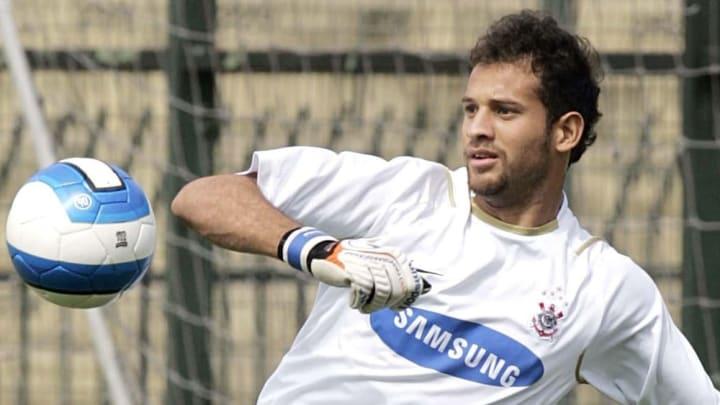 Marcelo Marinho foi campeão brasileiro pelo Corinthians, em 2005.