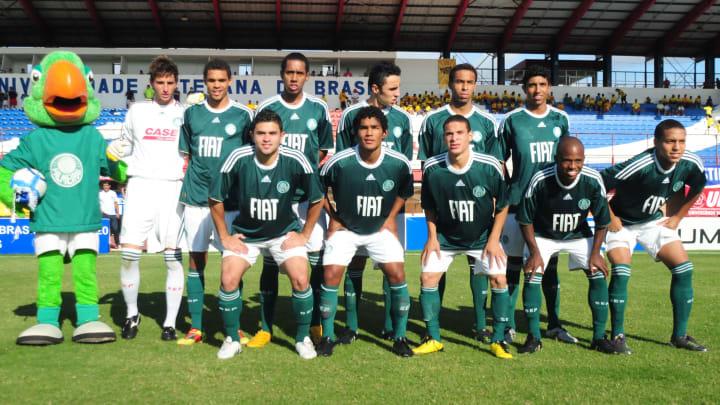 Time sub-20 do Palmeiras.