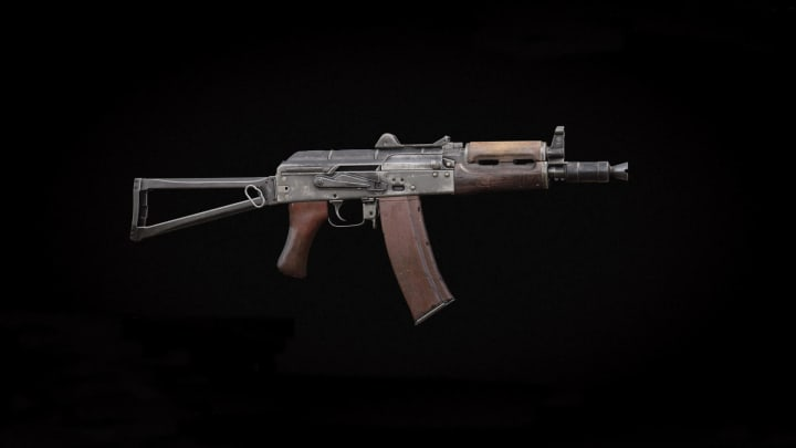 The AK74u is a great mid-range SMG