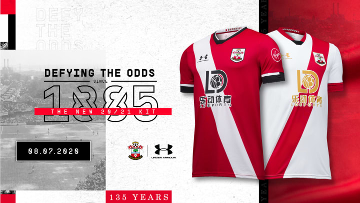 Southampton Launch 2020/2021 135 Year Anniversary Kits Alongside Addictive Mobile Game