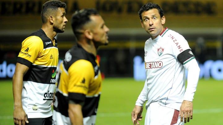 Tricolor não jogou bem em Santa Catarina