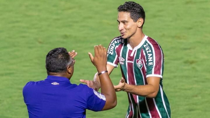 Ganso anotou o gol da vitória do Fluminense