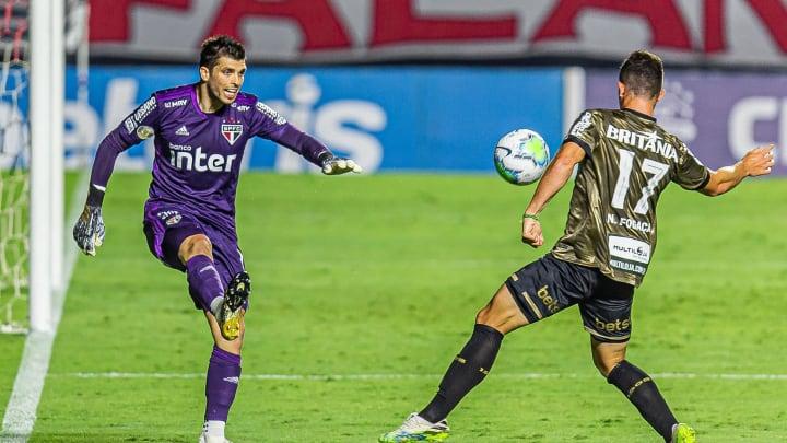 São Paulo e Coritiba ficaram no 1 a 1 no Morumbi