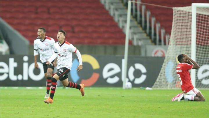 Vitória fez 3 a 1 no Colorado em pleno Beira-Rio