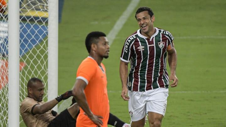 Fred anotou um dos gols da vitória do Fluminense sobre o Nova Iguaçu