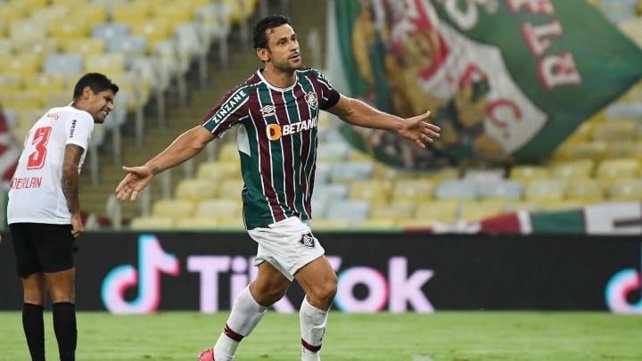 Fred abriu o placar na vitória do Fluminense por 2 a 0 sobre o Bragantino
