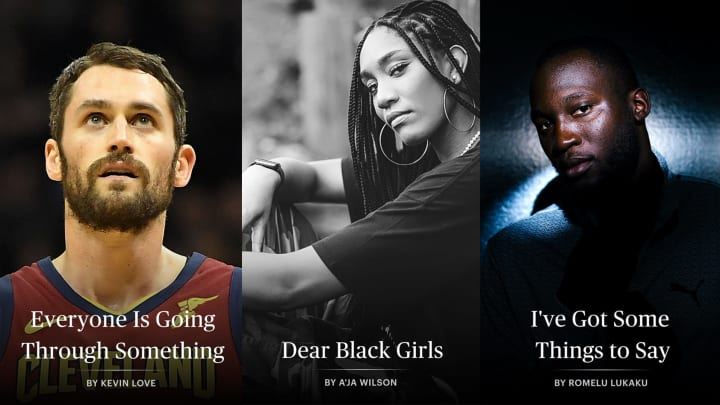 Kevin Love | A'ja Wilson | Romelu Lukaku | Derek Jeter | The Players' Tribune