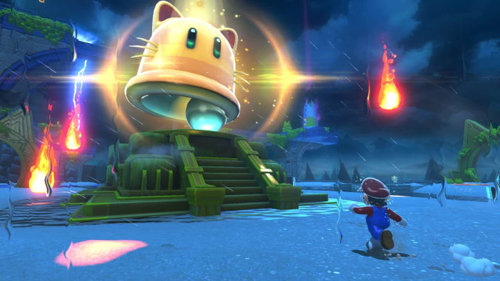 Bowser's Fury's new trailer shows Mario transform into a giant cat.