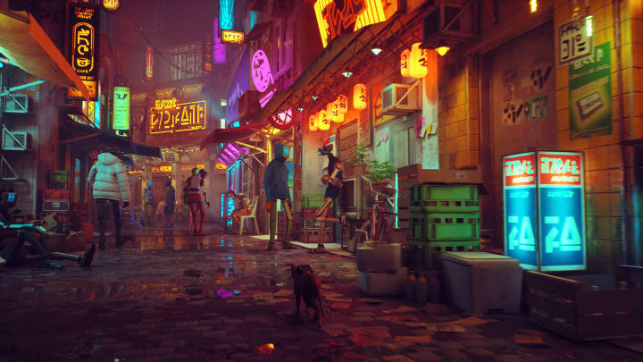 Stray in-game screenshot