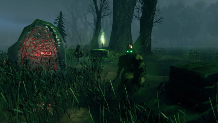Rancid Remains in Valheim are a rare encounter that only well-established warriors should seek out.