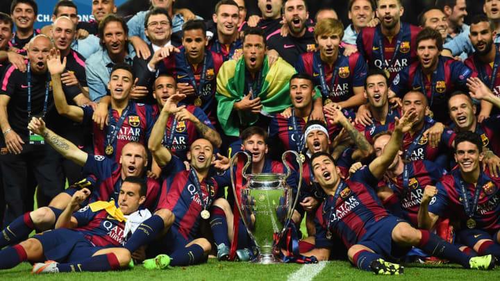 Barcelona cũng đang có thành tích khủng ở Champions League
