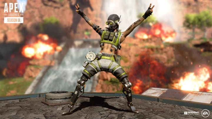 Explosive weapons may be on their way to Apex Legends.