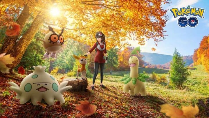 Shiny Deerling Pokemon GO: Unova's newest seasonal release