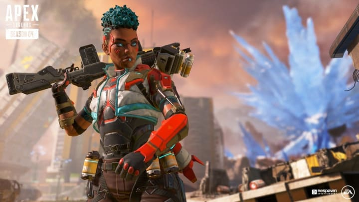 An Apex Legends Black Lives Matter banner was added to the game Saturday.