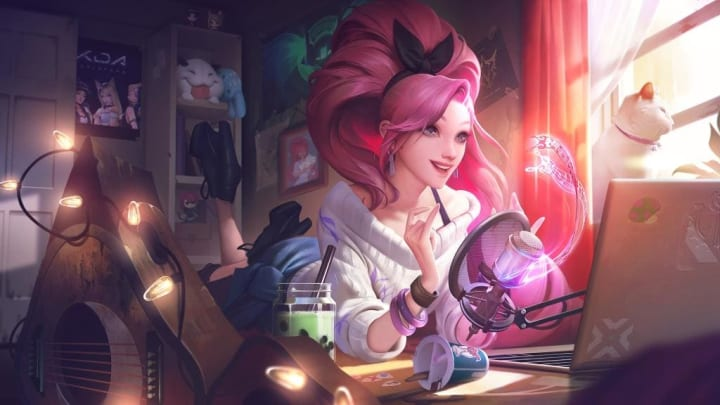 League of Legends' new champion, Seraphine.