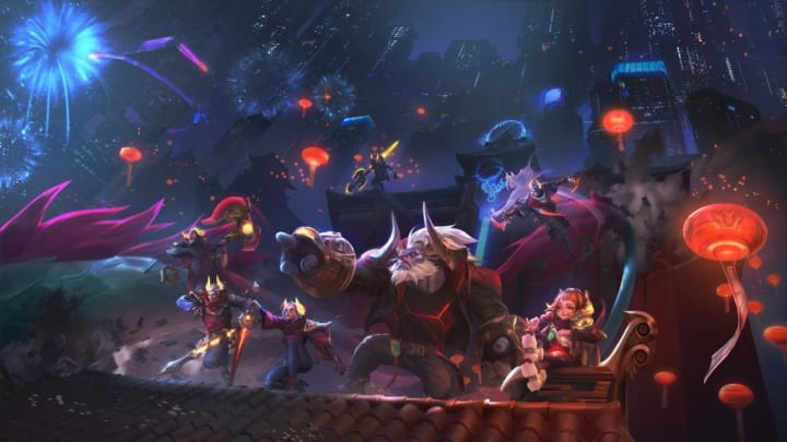 How many skins are available in League of Legends?