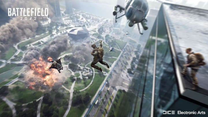 Which platforms will Battlefield 2042 be released on?