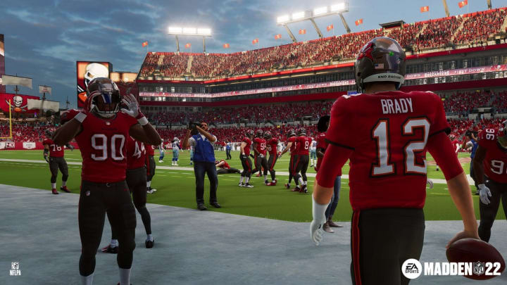 Madden NFL 22 released for PlayStation 4, PS5, Xbox One, Xbox Series X|S, Stadia and PC (via Steam and Origin) on Aug. 20, 2021.