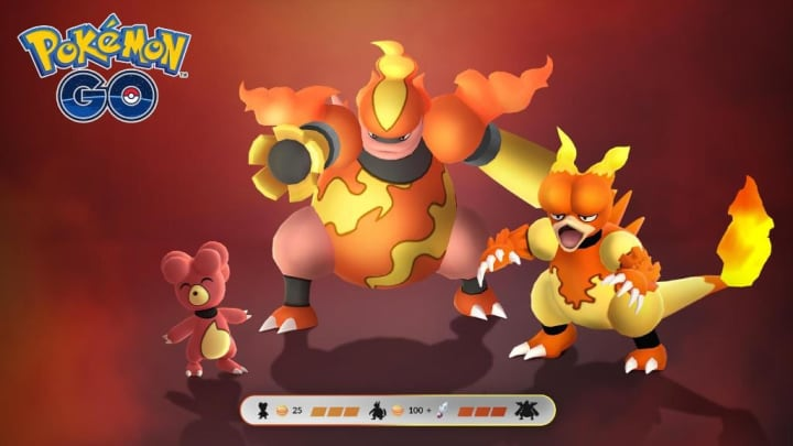 Shiny Magmar in Pokemon GO has been around for quite a few years.