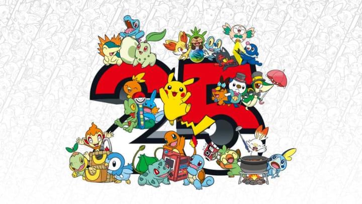 Nintendo will Pokémon's 25th anniversary throughout 2021.