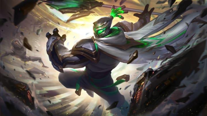 League of Legends: Conqueror Jax Skin