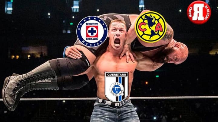 Querétaro despachó a Cruz Azul y América en la semana.
